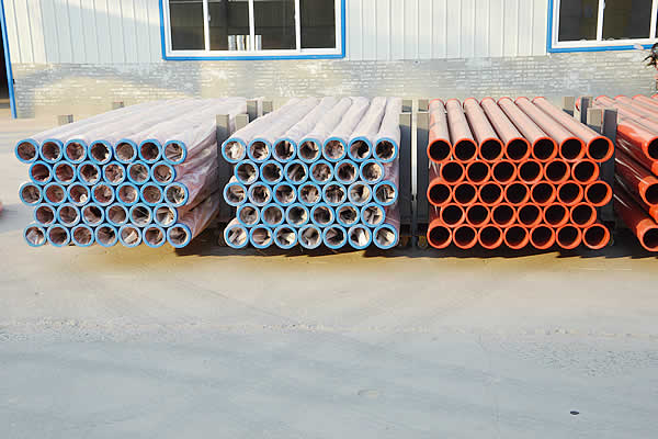 Concrete pumping pipe