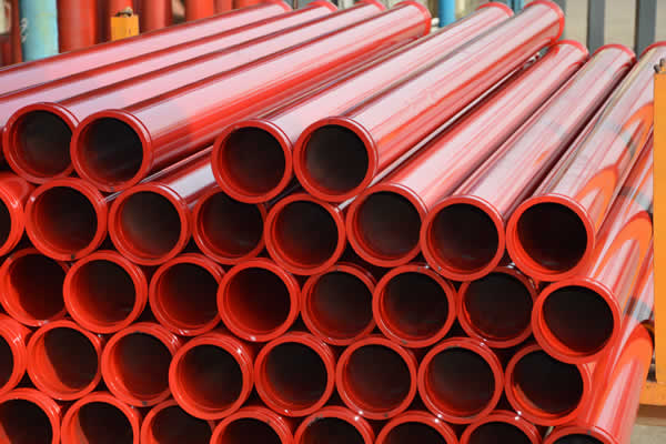 ST52 concrete pump pipe